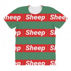 Sheep (iDubbbz Merch) Supreme All Over Women's T-shirt | Artistshot