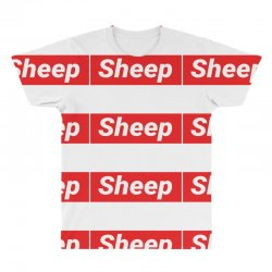 Sheep (iDubbbz Merch) Supreme All Over Men's T-shirt | Artistshot