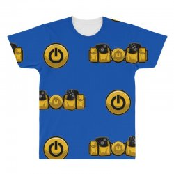 geek utility belt All Over Men's T-shirt | Artistshot