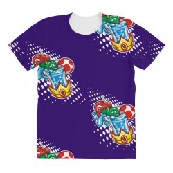 mario bros All Over Women's T-shirt | Artistshot