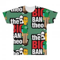 funny big bang theory sheldon, ideal gift or birthday present. All Over Men's T-shirt | Artistshot