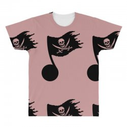 music pirate All Over Men's T-shirt | Artistshot