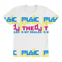 music is my drug All Over Women's T-shirt | Artistshot
