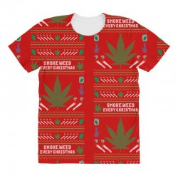 smoke weed ugly sweater All Over Women's T-shirt | Artistshot