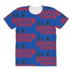 Stranger Things All Over Women's T-shirt | Artistshot