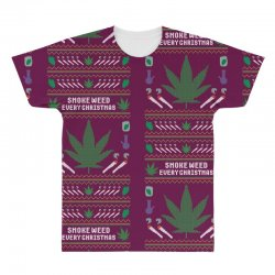 smoke weed ugly sweater All Over Men's T-shirt | Artistshot