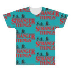 Stranger Things All Over Men's T-shirt | Artistshot