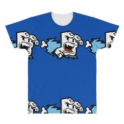 screaming paw All Over Men's T-shirt | Artistshot