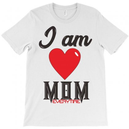 Love Mom T-shirt Designed By Muzakkir