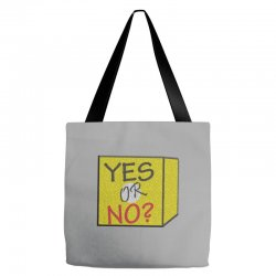 yes our no Tote Bags | Artistshot