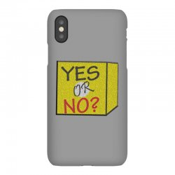yes our no iPhoneX | Artistshot