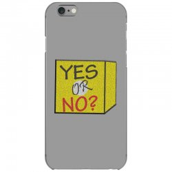 yes our no iPhone 6/6s Case | Artistshot