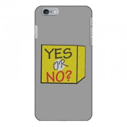 yes our no iPhone 6 Plus/6s Plus Case | Artistshot