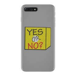 yes our no iPhone 7 Plus Case | Artistshot