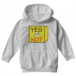 yes our no Youth Hoodie | Artistshot