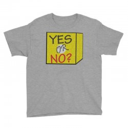 yes our no Youth Tee | Artistshot