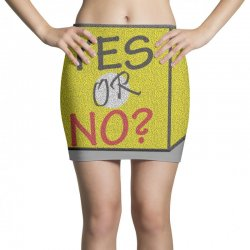 yes our no Mini Skirts | Artistshot