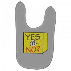 yes our no Baby Bibs | Artistshot