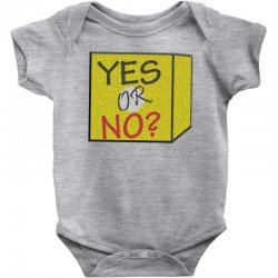 yes our no Baby Bodysuit | Artistshot