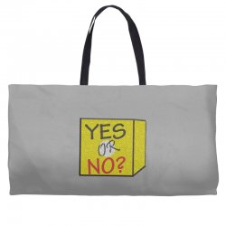 yes our no Weekender Totes | Artistshot