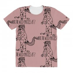 where the wild parties at All Over Women's T-shirt | Artistshot