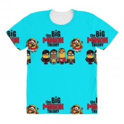 the big minion theory All Over Women's T-shirt   Artistshot