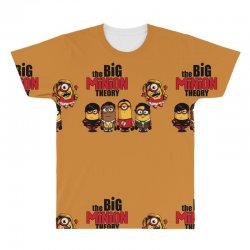 the big minion theory All Over Men's T-shirt   Artistshot