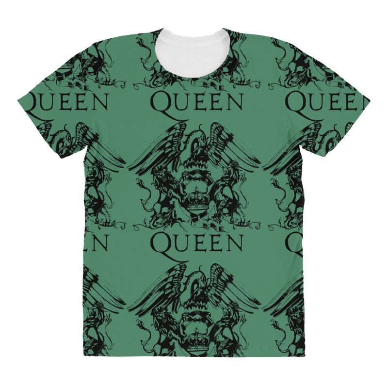 22726565877 Custom Queen All Over Women s T-shirt By Sbm052017 - Artistshot