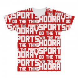 hooray sports do the thing win the points All Over Men's T-shirt | Artistshot