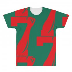 Colin Kaepernick Number 7 All Over Men's T-shirt | Artistshot