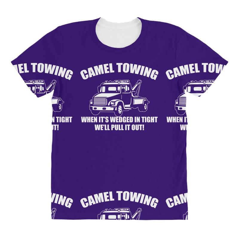1d7bde81e camel towing mens t shirt tee funny tshirt tow service toe college hum All  Over Women's T-shirt