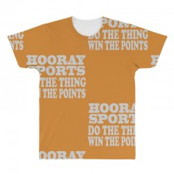 hooray sports win points All Over Men's T-shirt | Artistshot