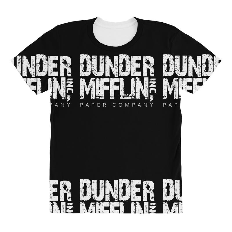 be9e2861a074f dunder mifflin tshirt funny humor the office tee paper company dwight All  Over Women s T-shirt