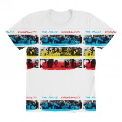 the police synchronicity rock band All Over Women's T-shirt   Artistshot