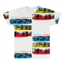 the police synchronicity rock band All Over Men's T-shirt   Artistshot