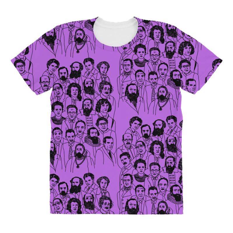 0ba62dfe50e2 Custom Guess Who, Science Edition All Over Women's T-shirt By Mdk ...