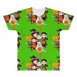 halloween All Over Men's T-shirt | Artistshot