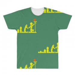 evolution lego basketball sports funny All Over Men's T-shirt | Artistshot