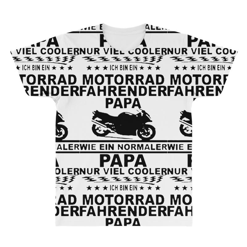 acce633f Custom Motorrad Papa All Over Men's T-shirt By Jafarnr1966 - Artistshot