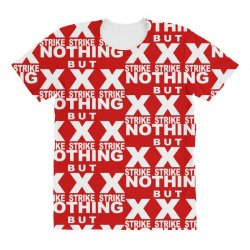 nothing but strikes bowling tee pba sports cool All Over Women's T-shirt | Artistshot