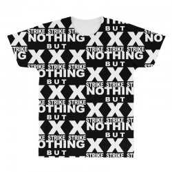 nothing but strikes bowling tee pba sports cool All Over Men's T-shirt | Artistshot