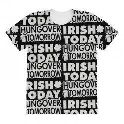 irish today hungover All Over Women's T-shirt | Artistshot