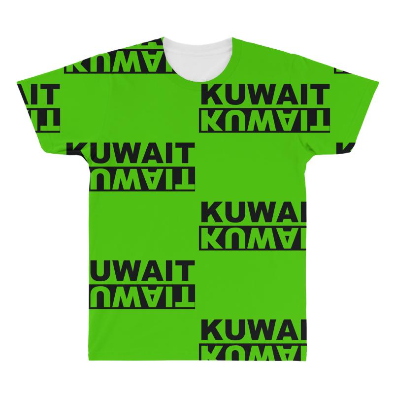Kuwait Negative All Over Men's T-shirt  By Artistshot