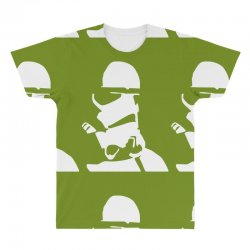 Custom Storm Trooper Face Star Wars 2 All Over Men s T-shirt By Mdk ... a06193a84dc55