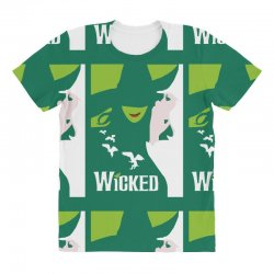 wicked broadway musical about wizard of oz All Over Women's T-shirt | Artistshot