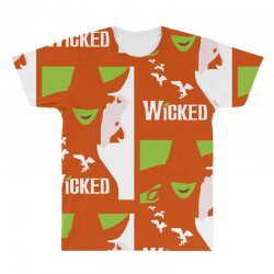 wicked broadway musical about wizard of oz All Over Men's T-shirt | Artistshot