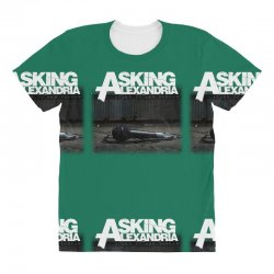 asking alexandria stand up and scream metalcore parkway drive All Over Women's T-shirt | Artistshot