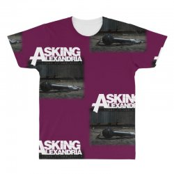 asking alexandria stand up and scream metalcore parkway drive All Over Men's T-shirt | Artistshot