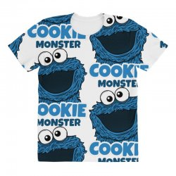 Cookie Monster All Over Women's T-shirt | Artistshot