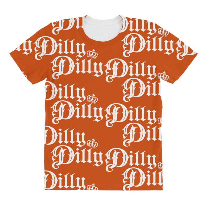 a346406b Custom Dilly Dilly All Over Women's T-shirt By Tshiart - Artistshot